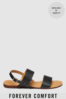 Forever Comfort® Two Band Slingback Sandals