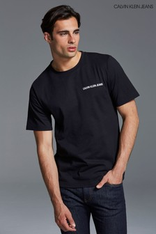 Calvin Klein Jeans Black Basic Logo Tee
