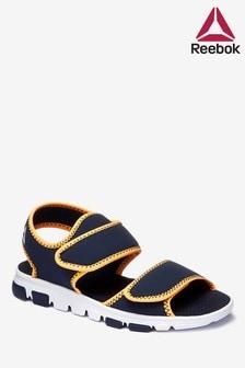 Темно-синие/оранжевые сандалии Reebok Wave Glider III