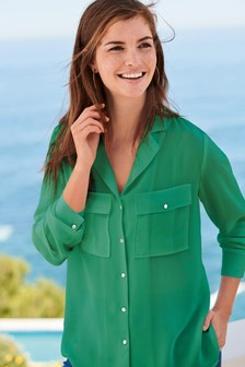 2c1d740ea9a Ladies Green Tops