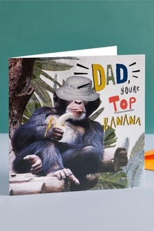 Top Banana Father's Day Card
