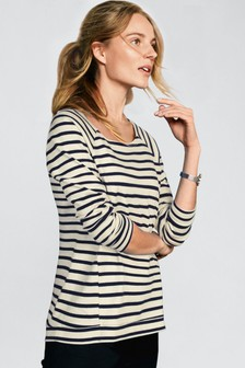Striped Midweight Top