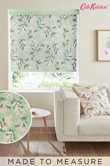 Cath Kidston Green Mimosa Flower Multi Made To Measure Roller Blind
