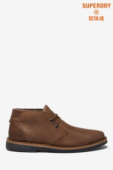 Superdry Tan Low Boots