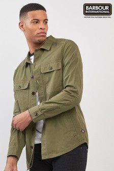 Barbour® International Steve McQueen Olive Doc Overshirt