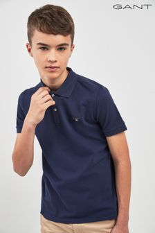 GANT Teen Navy Original Pique Polo