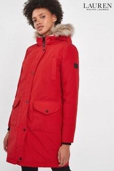 Lauren Ralph Lauren® Red Arctic Parka Coat