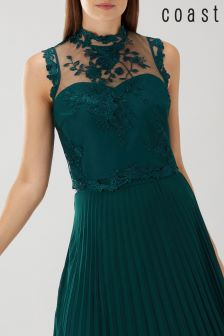 Coast Green Lakin Embroidered Top
