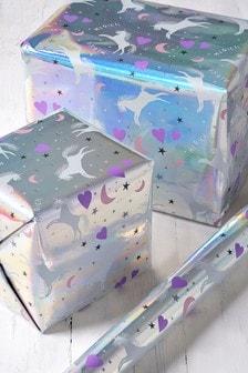 6M Unicorn Print Wrapping Paper