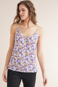 Button Through Cami