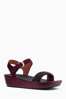 FitFlop™ Black/Brown Bon II Sandal