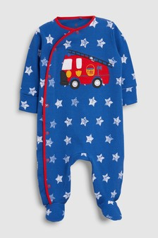 Fire Engine Sleepsuit (0mths-2yrs)