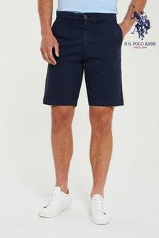 U.S. Polo Assn. Blue classic Chino Shorts