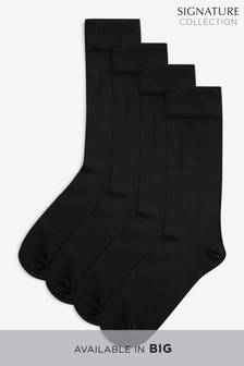 Supima Cotton Socks Four Pack