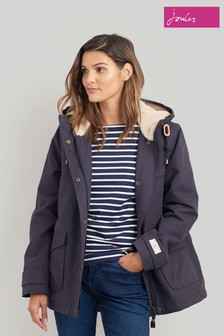 Joules Blue Coast Cosy Waterproof Jacket