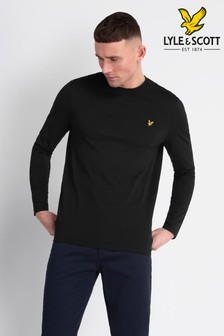 Lyle & Scott Jet Black Crew Neck T-Shirt