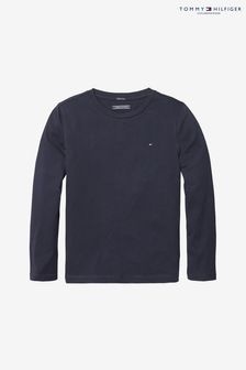 cc9a8cf48f29b9 Tommy Hilfiger Basic Langärmeliges Top