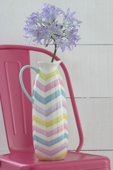 Striped Jug
