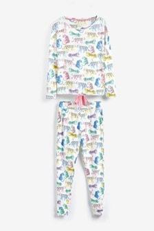 Leopard Cotton Pyjamas