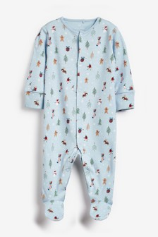 Delicate Christmas Sleepsuit (0mths-2yrs)