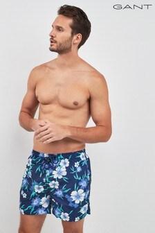 GANT Floral Classic Fit Swim Short