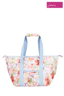 Joules White Picnic Carrier Bag