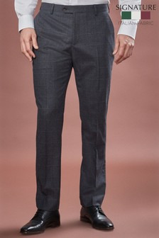 Cerruti Signature Check Suit: Trousers