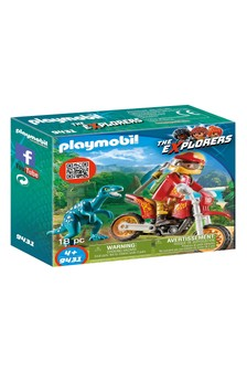 Playmobil® Motorcross With Raptor