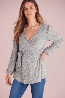 Maternity/Nursing Cosy Wrap Top