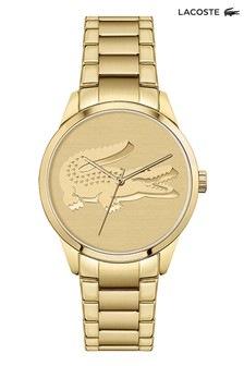 Lacoste Ladycroc Yellow Gold Watch