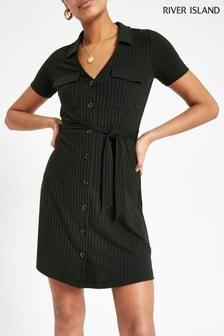 שמלת חולצה מריב של River Island דגם Utility