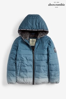 Abercrombie & Fitch Blue Padded Jacket