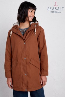 Seasalt Brown River Sea Coat
