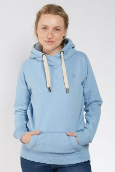 FatFace Clay Blue Heritage Overhead Hoody