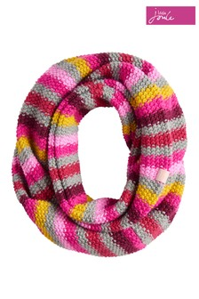 Joules Multi Stripe Knitted Snood