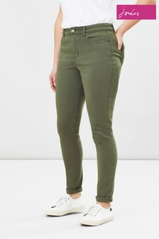 Joules Blue Monroe High Rise Skinny Stretch Jeans