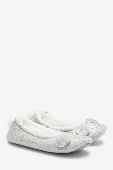 'Darcy' Dog Ballerina Slippers