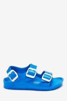 Birkenstock® Blue Milano EVA Sandals