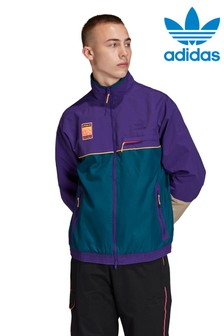 adidas Originals Purple/Teal Adiplore Track Top