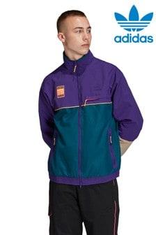 adidas Originals Purple/Teal Adiplore Track Top