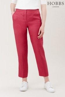 Hobbs Pink Anthea Trouser