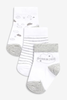 Born In 2019 Socks (Newborn)