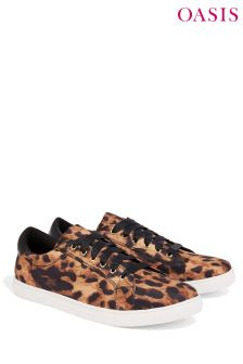 Oasis Sneakers mit Animal-Print