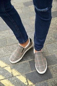 Slipper im Sneaker-Look