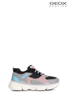 Geox Girl's Lunare Grey Shoes
