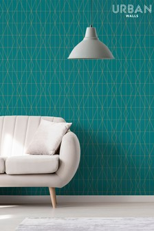 Urban Walls Diamond Wallpaper