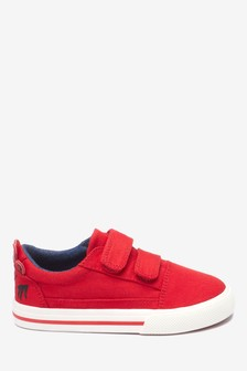 Schuh mit Doppelriemen und Motiv (Jünger)