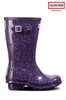 Hunter Original Kids Giant Glitter Wellies