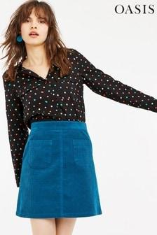Oasis Natural Multi Spot Shirt