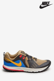 Nike Trail Beige/Blue Zoom Air Wildhorse Trainers